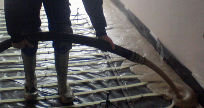 Flotherm Liquid Screed